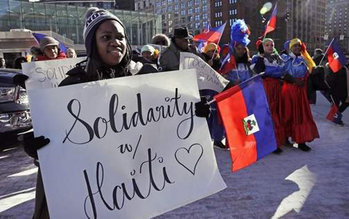 Trump's move to send Haitians home goes on trial in New York