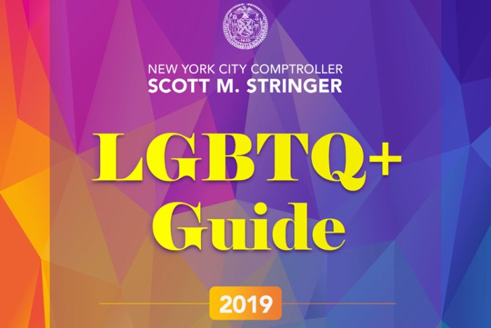 In Celebration of WorldPride and Stonewall 50, Comptroller Stringer Releases 2019 LGBTQ+ Guide