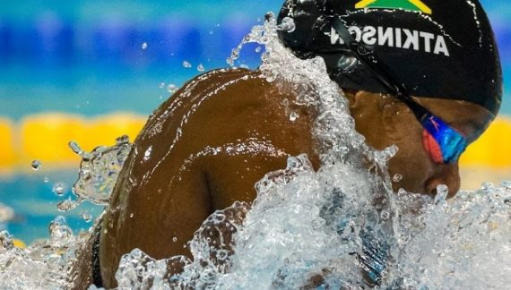 Jamaican Swimmer, Alia Atkinson Wins Gold in 50m Breaststroke at FINA Swimming World Cup 2019 in Tokyo
