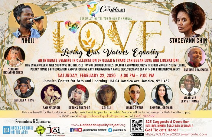 Celebrate Caribbean L.O.V.E on February 22, 2020 in Queens