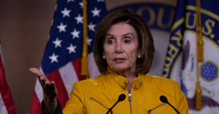 Nancy Pelosi Ripped Up Donald Trump's State of the Union Speech