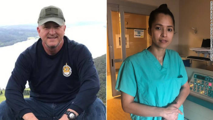 He was a Covid-19 patient. She cleaned his hospital room. Their unexpected bond saved his life.