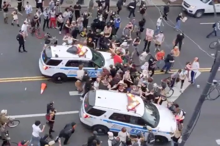 Brooklyn Protesters Slammed by NYPD SUV Vow to Keep Marching