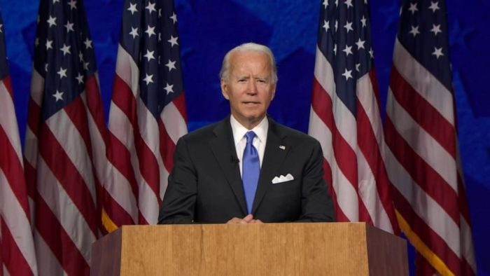 Watch Joe Biden's Full Speech at the 2020 DNC