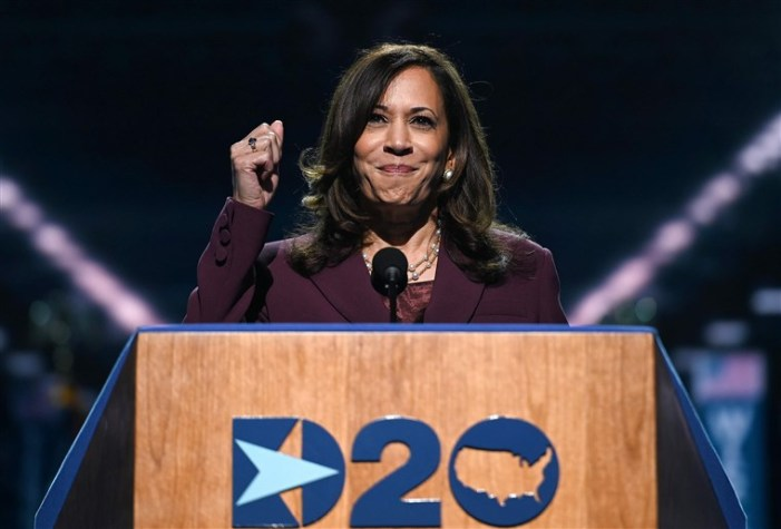 Watch Sen. Kamala Harris' Full Remarks At The 2020 DNC