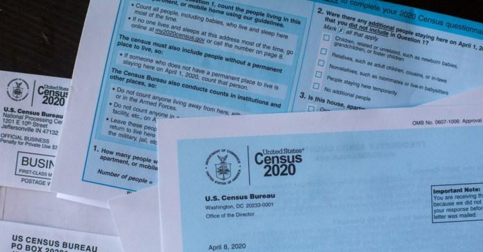 United States Census 2020: Notice of Census Visit