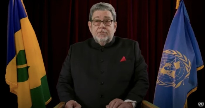 Address by Dr. the Hon. Ralph Gonsalves Prime Minister of Saint Vincent and the Grenadines at the general debate of the 75th Session of the General Assembly of the UN