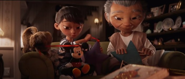 Disney Christmas Ad Reminds Us Family Means More Than Ever This Year