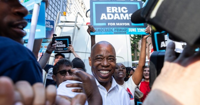 Adams Ahead in Mayoral Race, but Wiley and Garcia Count on Ranked Choice Tally