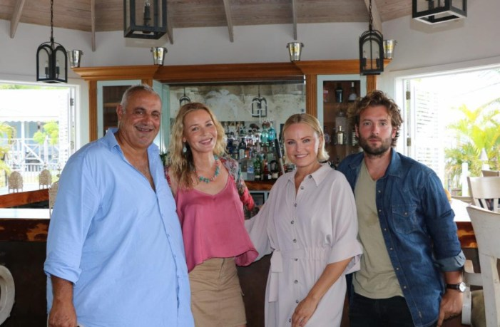 Hollywood Actors Descend on Nevis for New Film