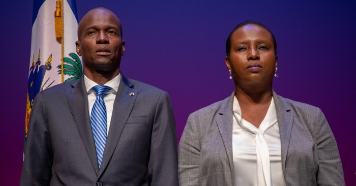 Haiti: Wife of Assassinated President Jovenel Moïse Returns After Surviving Attack