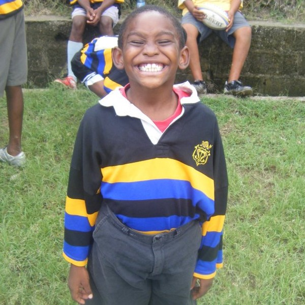 Big smiles at the youth rugby festival