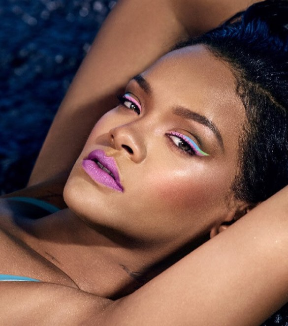 Photo of Rihanna courtesy of Fenty Beauty Website: FentyBeauty.com