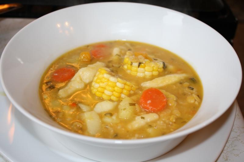 Corn Soup, Trinidad