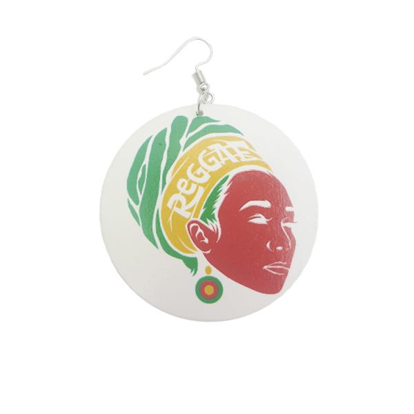 Single-Reggae-Lady-Earing