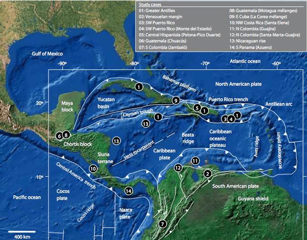 Caribbean Plate - Caribbean Tectonics