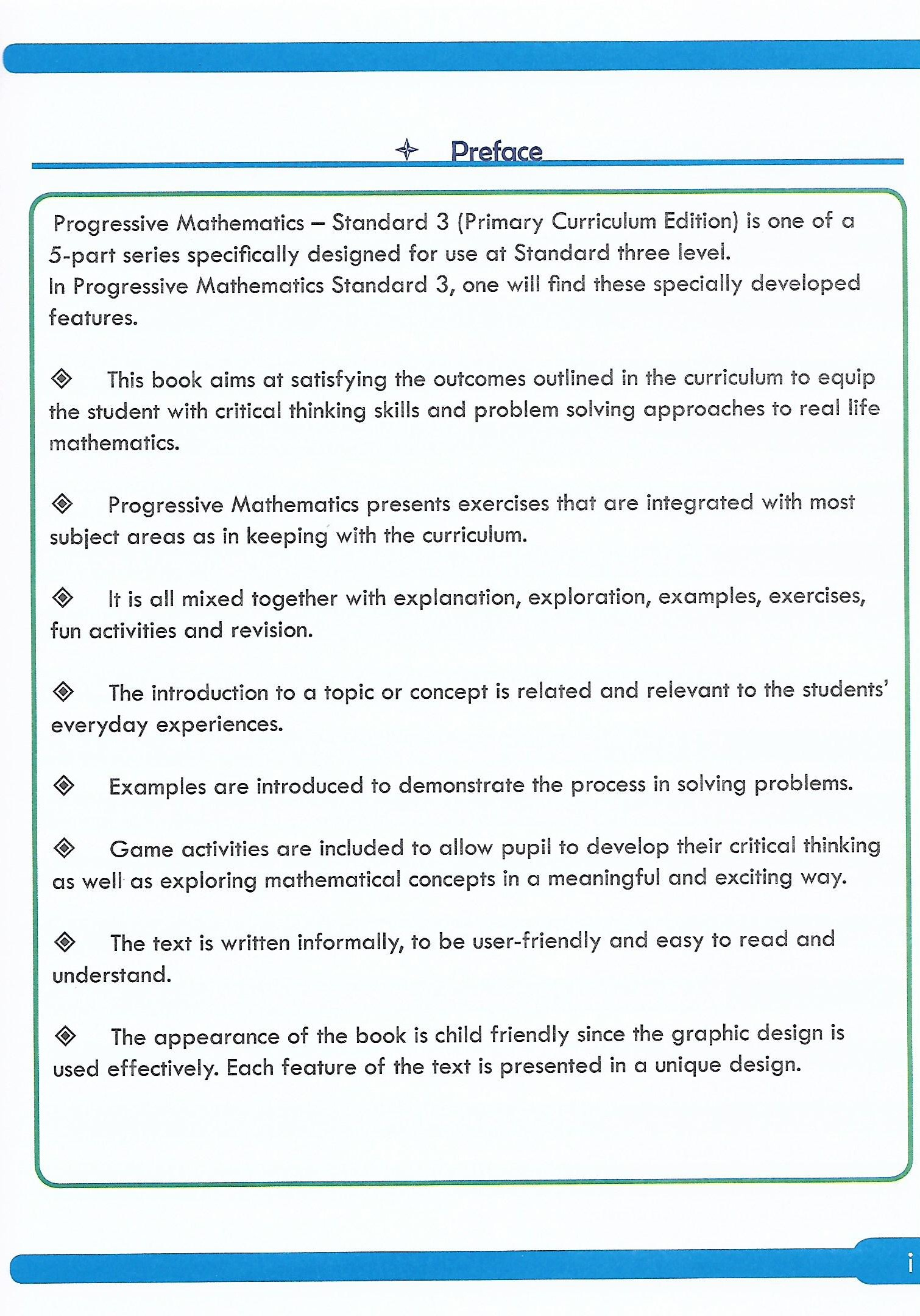 Progressive Mathematics For Primary Schools Book 3