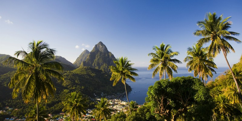 Soufriere  with Caribbean Warehouse