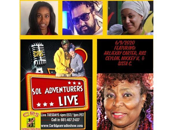 23: Sol Adventurers Live: Journey 2 Social Equity wid Sistah Rosey & Messenjah Selah