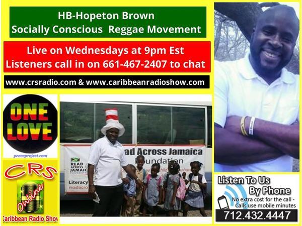 Reggae Wednesdayz Lovers Rock with Hopeton Brown