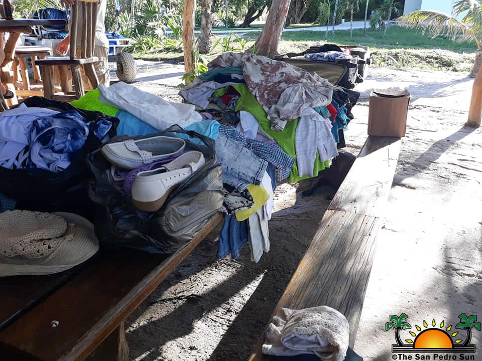 Maresha Reid organizes food and clothing drive to help flood