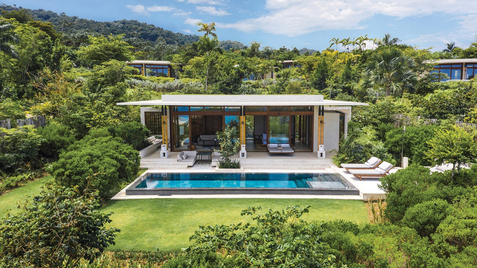Two Caribbean resorts made the most of Covid closures