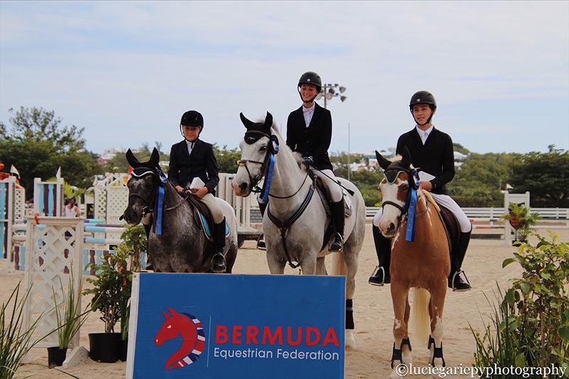 Bermuda 2nd In CEA Regional Jumping Event