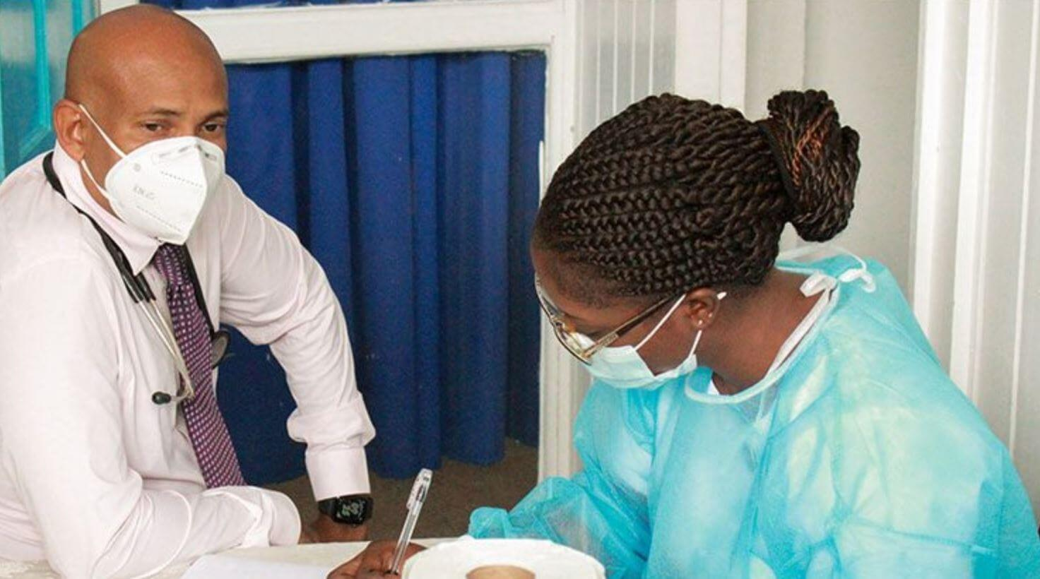 COVID-19 Vaccination Begins In Guyana