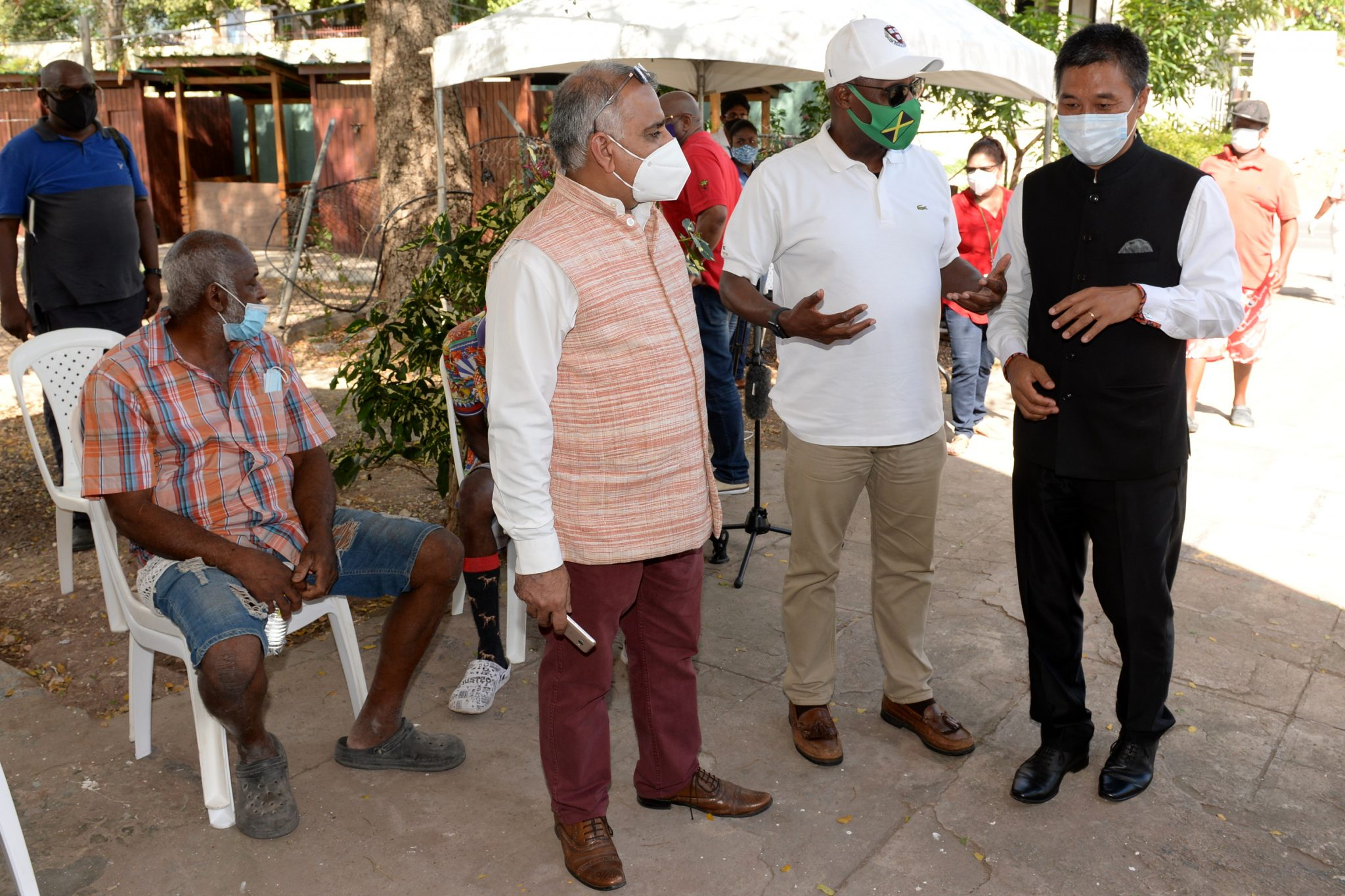 India's High Commissioner to Jamaica, His Excellency Rungsung Masakui at
