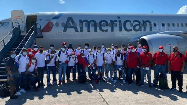 Belize football team held up by armed gang in Haiti