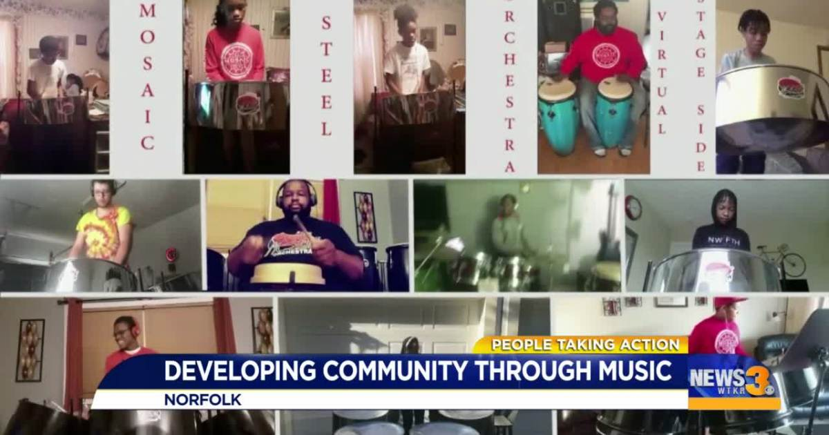 Local musician teaches young people life lessons through Caribbean music