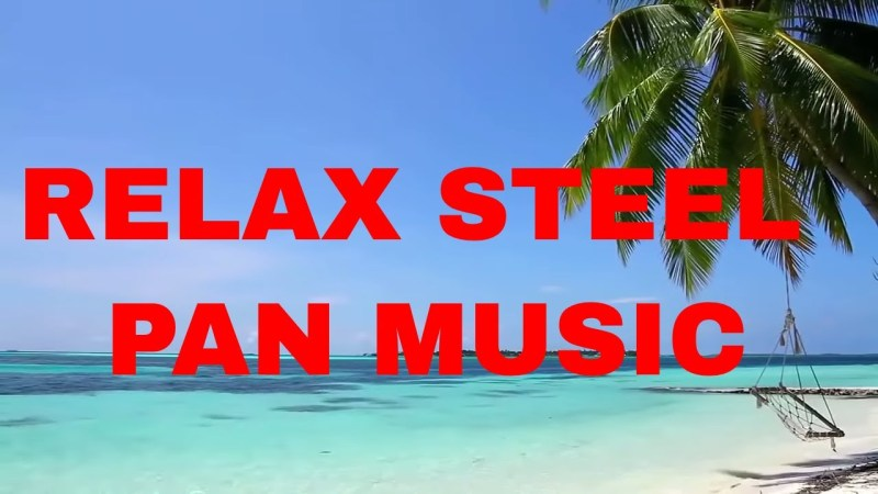 Relaxing Stress Relievering Tropical Steel Drum Music Mix Trinidad- Caribbean
