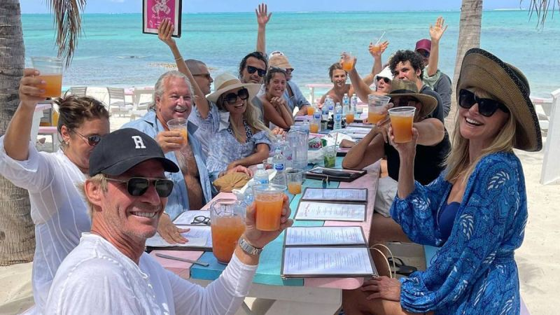Christie Brinkley forced to defend her large gathering of friends