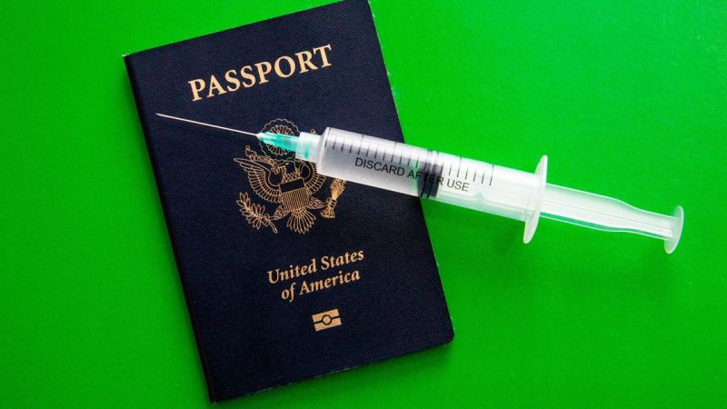 COVID-19 vaccine passports will play a part in global travel
