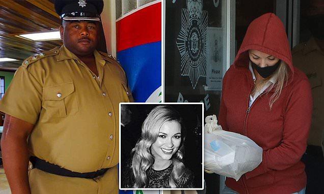 Belizean cop killed by Jasmine Hartin said he was going