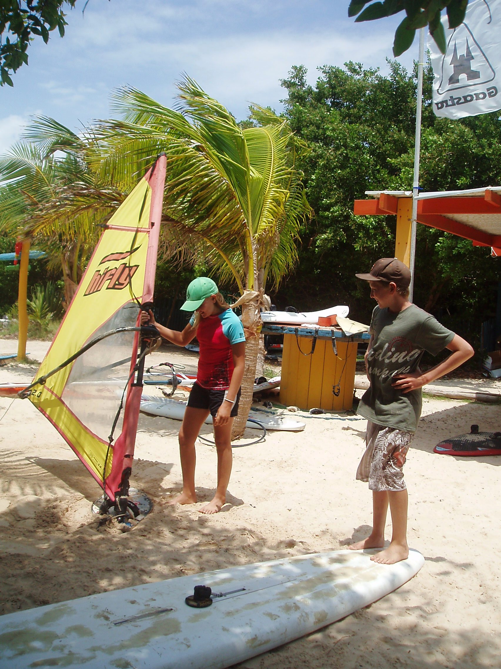 Kids Windsurf Paradise