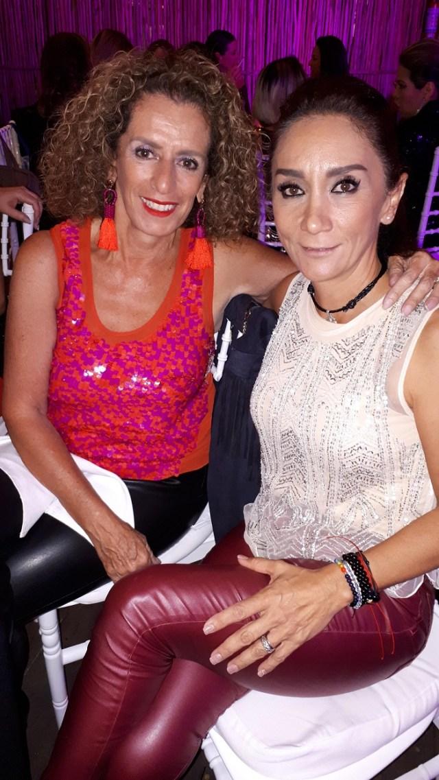 Noemí Constandse y Paulina Camacho.