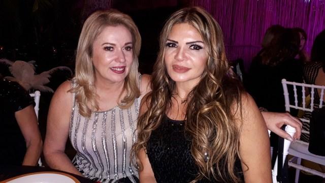 Elvia Barba y Fayne Carrillo.