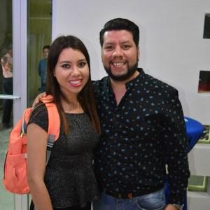 Carolina y Oswaldo Mercado.