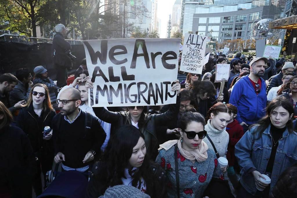 Trump y los migrantes