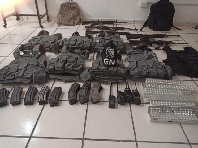 Asegura Guardia Nacional arsenal hallado en poblado cercano a Felipe Carrillo Puerto