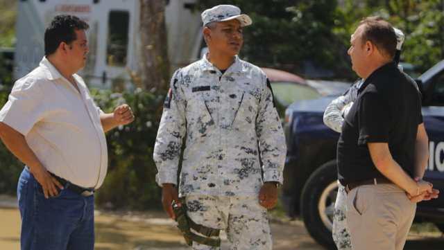 Guardia Nacional busca lugares para Centro de operaciones en Felipe Carrillo Puerto
