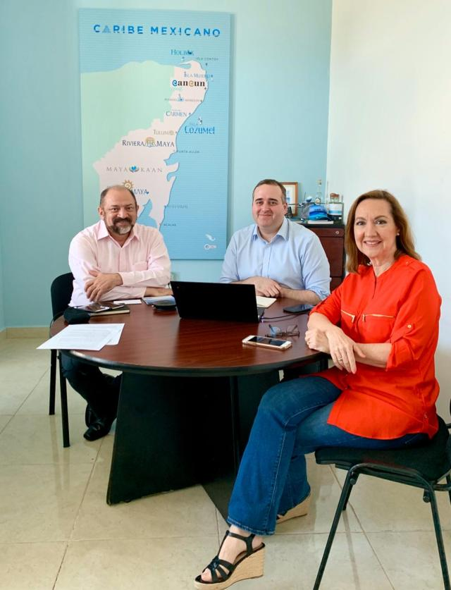 Brinda CPTQ herramientas para reforzar la percepción positiva del Caribe Mexicano