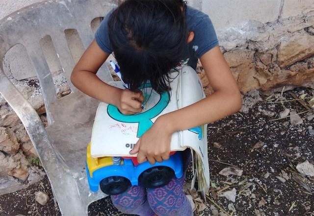 Falta de electricidad impide aprendizaje a distancia en Lázaro Cárdenas