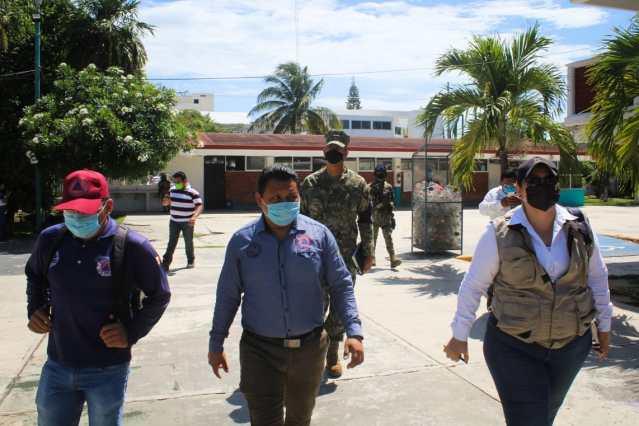 Guardia Nacional y Marina preparados para iniciar temporada de huracanes en Solidaridad