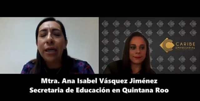 #Entrevista a Secretaria de Educación de Qroo, Ana Isabel Vásquez