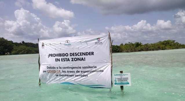 Piden a sociedad conocer los límites ambientales de la Laguna de Bacalar