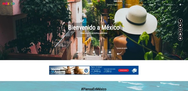 La AMAV tendrá presencia en la renovada plataforma VisitMéxico