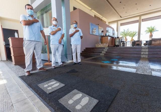 Refuerzan protocolos sanitarios en BCS para dar seguridad del visitante