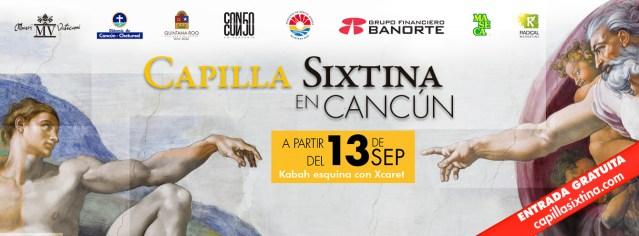 La Capilla Sixtina en México, ahora en Cancún